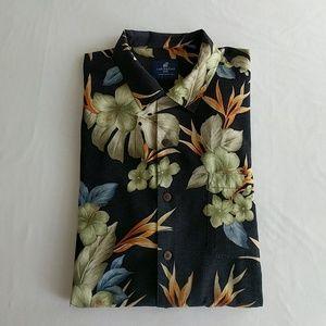 Caribbean Joe Men's Aloha Shirt XXL